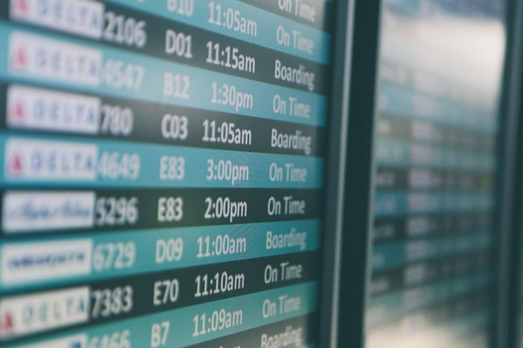 cheapest days to fly - Scheduled
