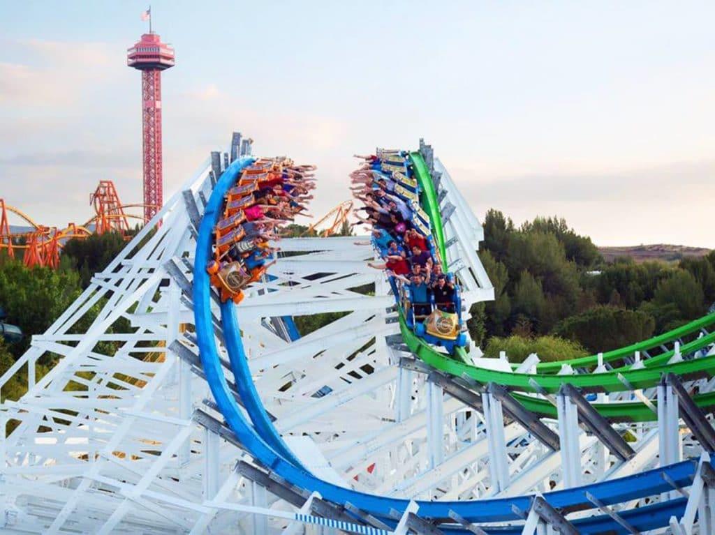 best amusement parks - Six Flags