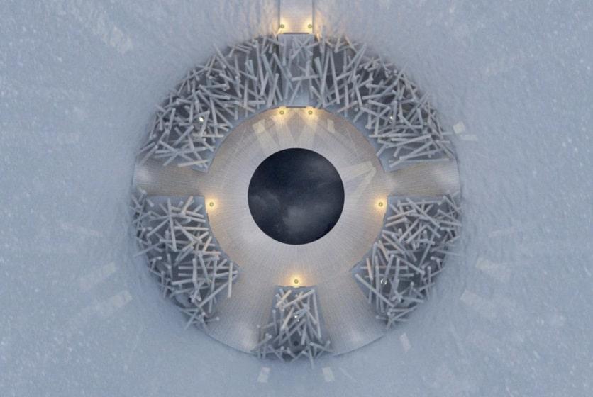 arctic bath - floating hotel - swedish laplands - trekbible - travel - hotels - hotels + resorts - resort and spa