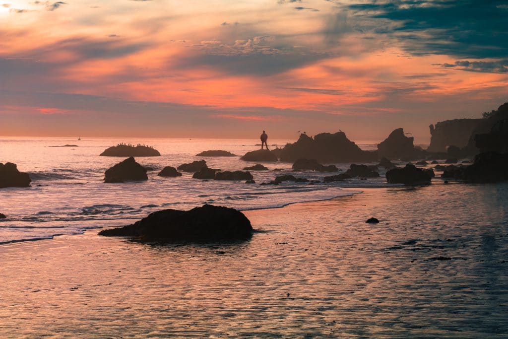 best beaches in california - El matador