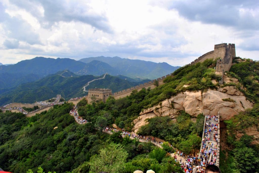adventure travel - Great Wall of China