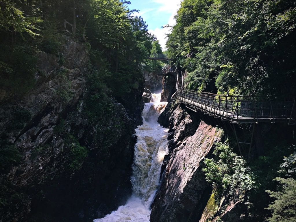 waterfalls in ny - High Falls Gorge