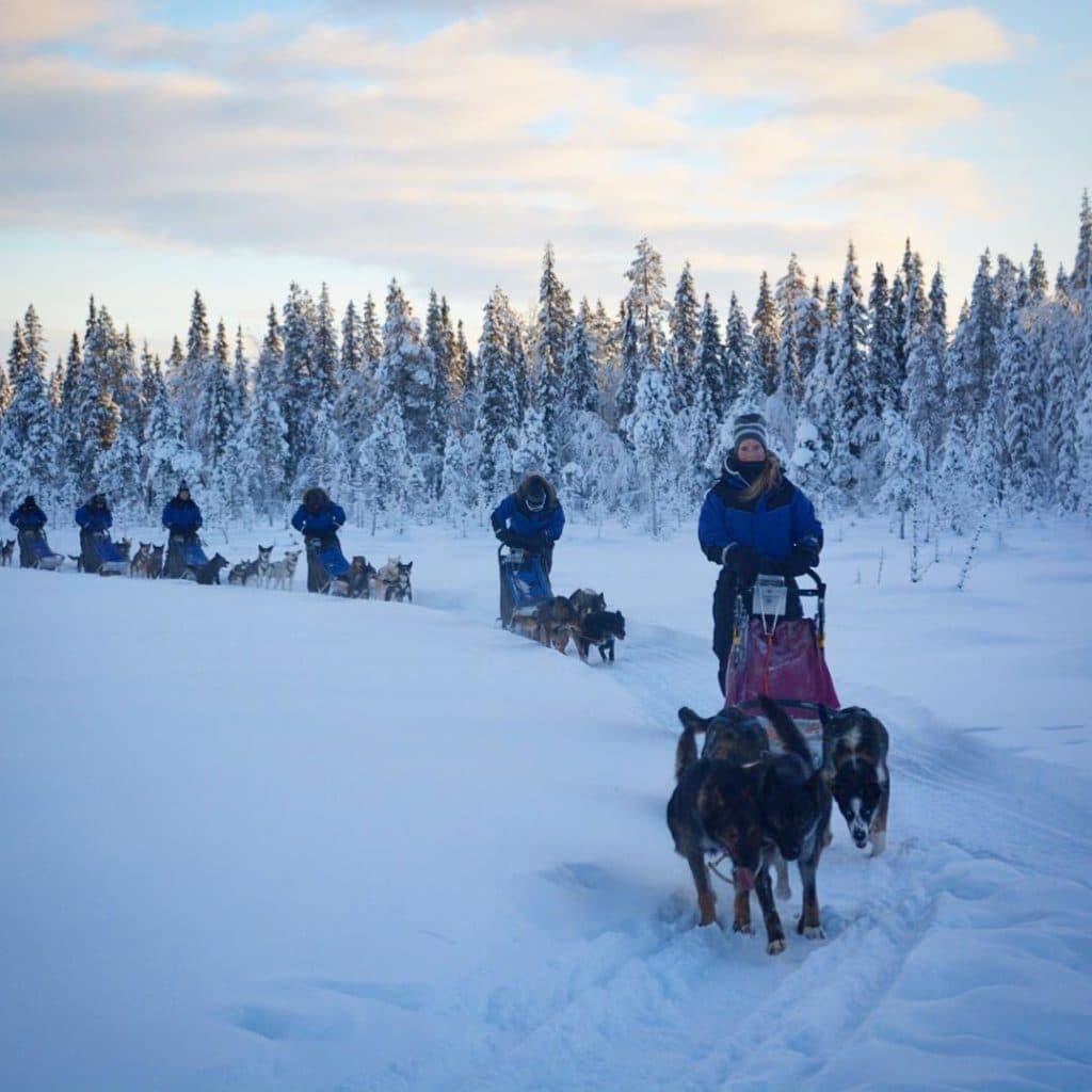adventure travel - Swedish Lapland