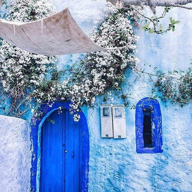 Chefchaouen Blue City Morocco The