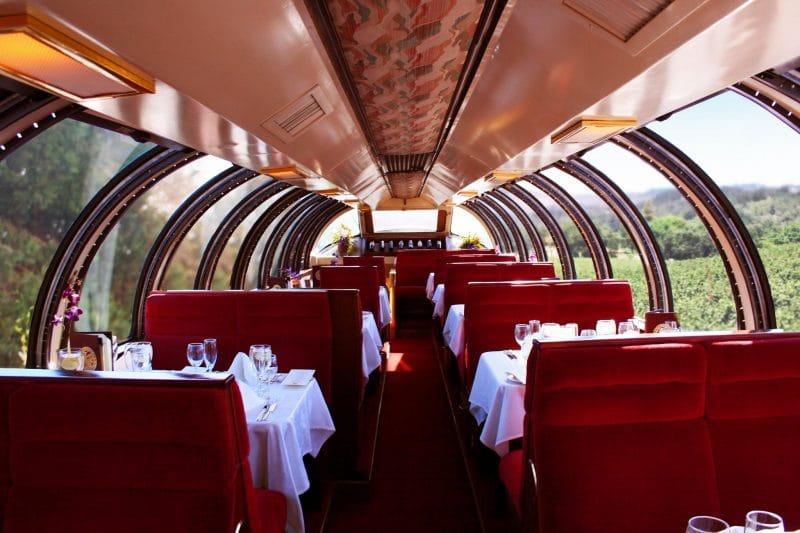 Napa Valley luxury railroad