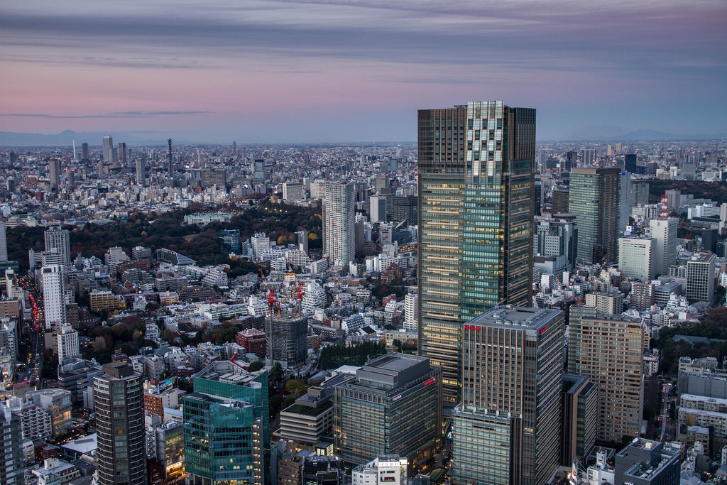 largest cities in the world - Tokyo, Japan