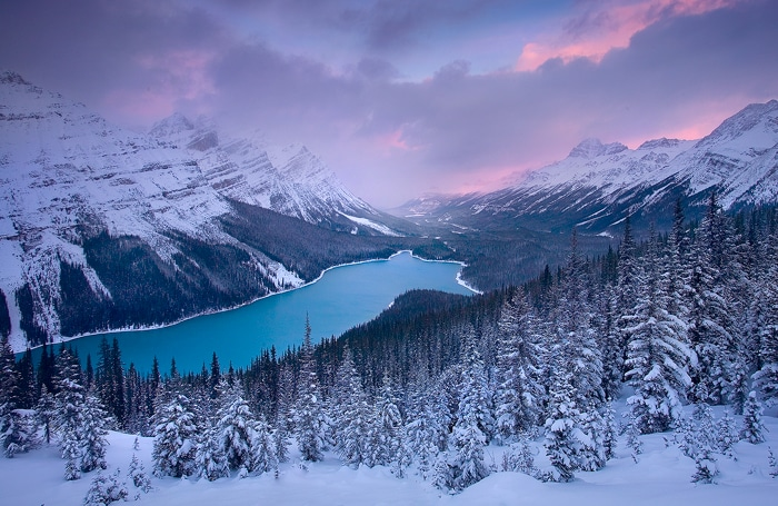 winter scenes - Banff National Park