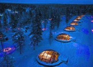 travel, trekbible, adventure, finland, Scandinavia, igloo, glass igloo, northern lights, winter, backpacking, adventure ideas, travel