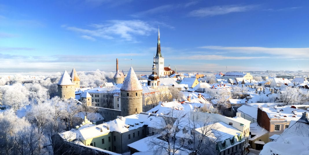 winter scenes - Tallinn, Estonia