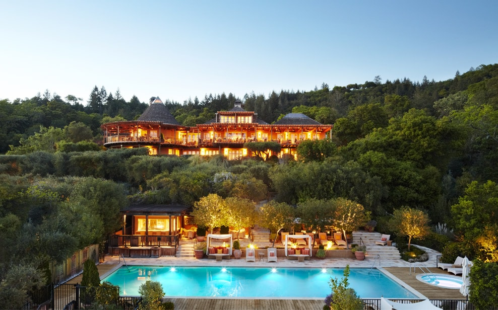 napa valley hotels - Auberge du Soleil