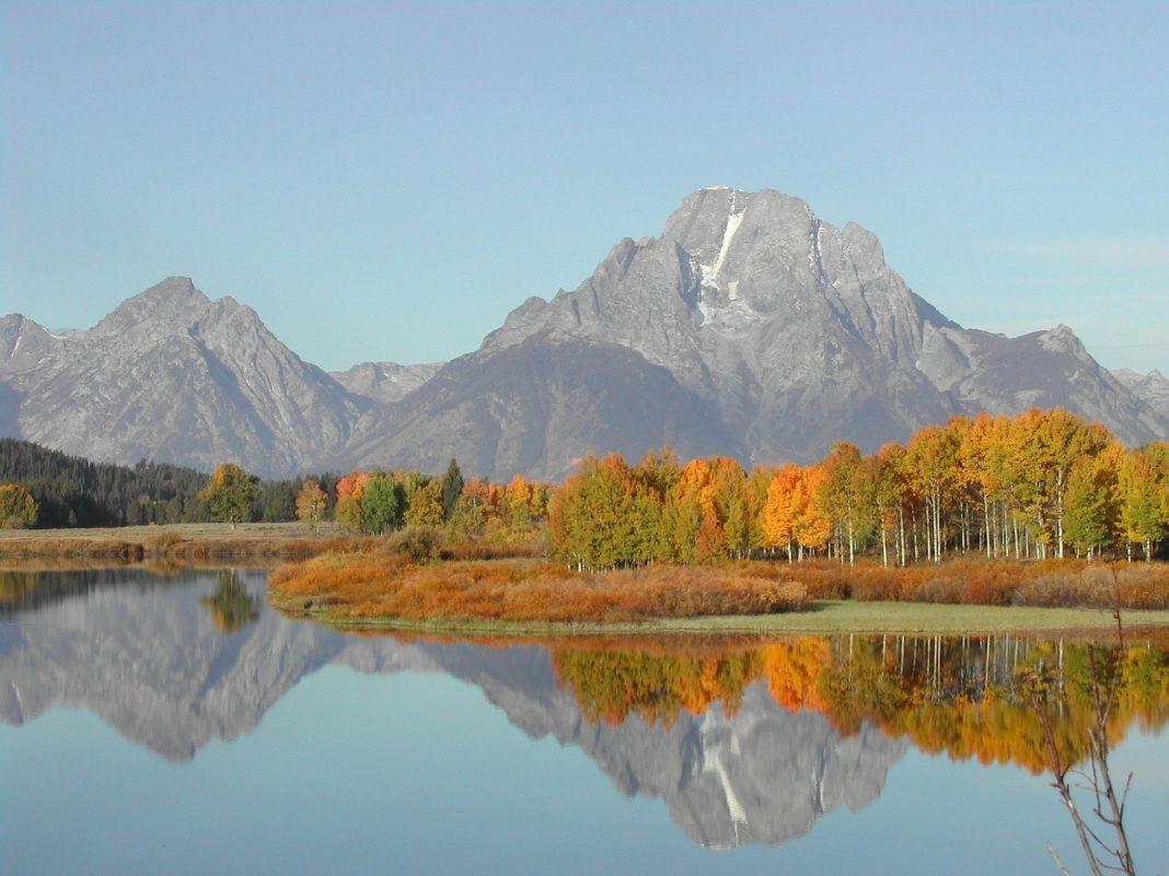 famous mountains - Grand Teton