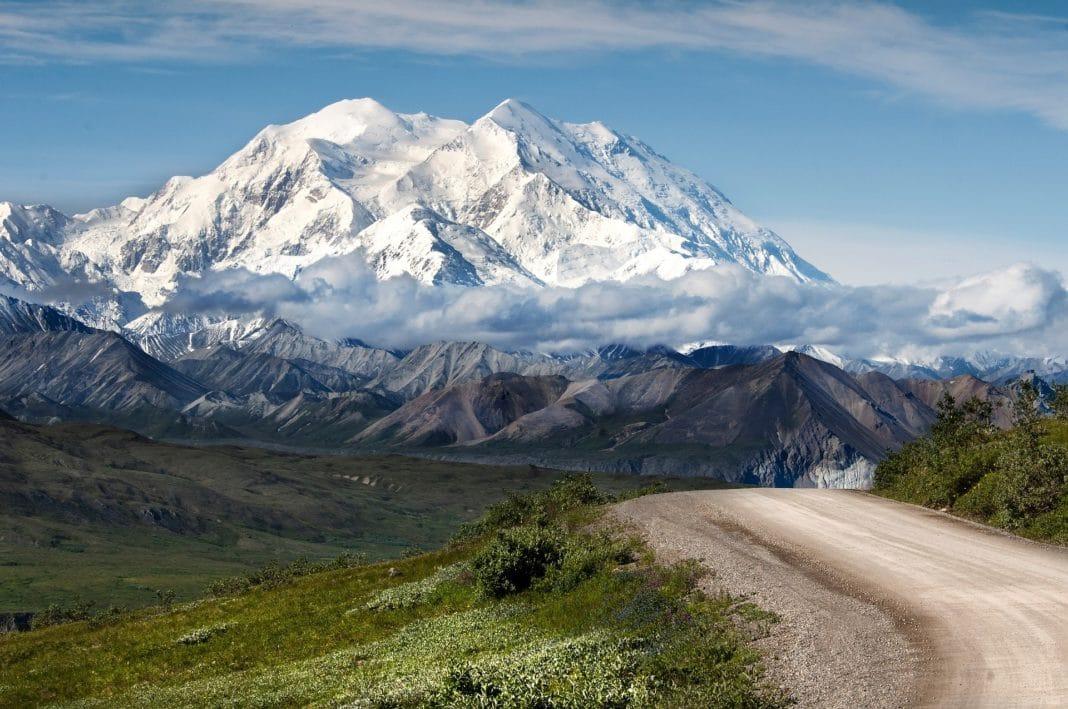 famous mountains - Mount McKinley