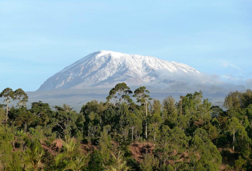 famous mountains - Mount Kilimanjaro