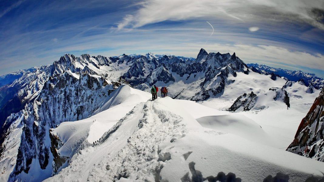 famous mountains - Mont Blanc