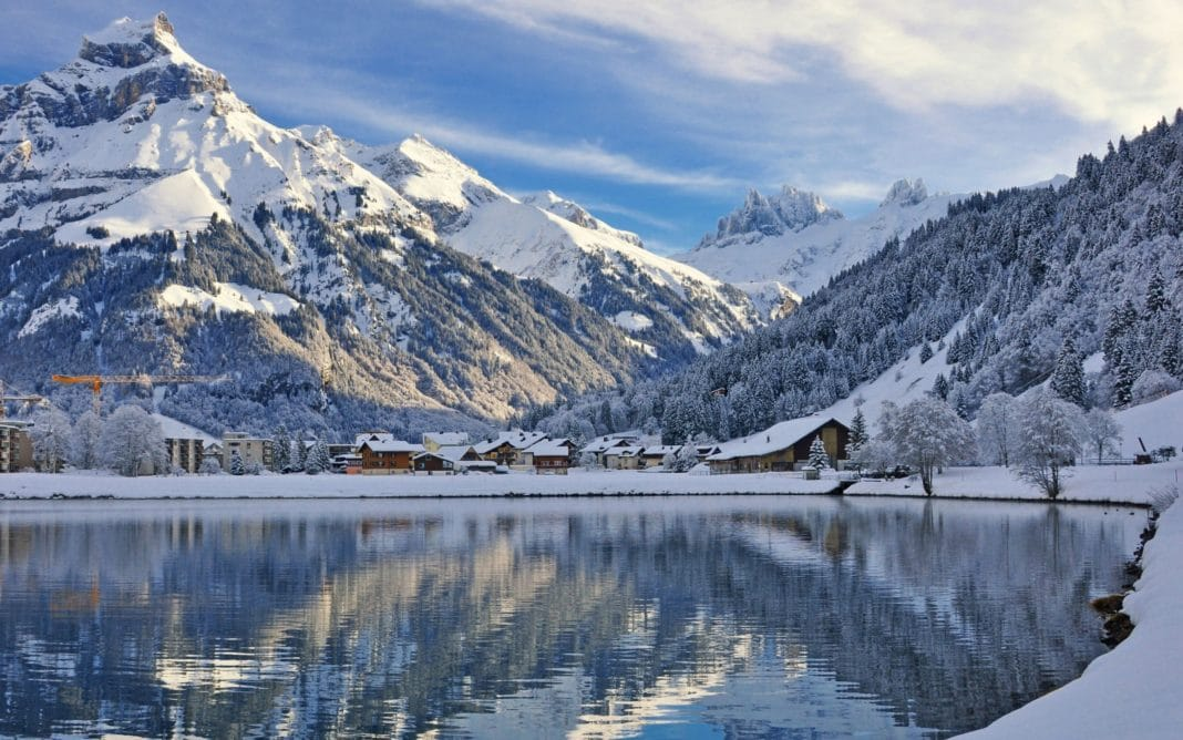 winter scenes - Swiss Alps