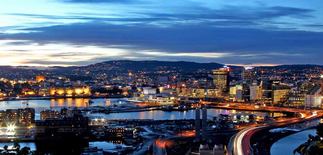 Oslo City lights