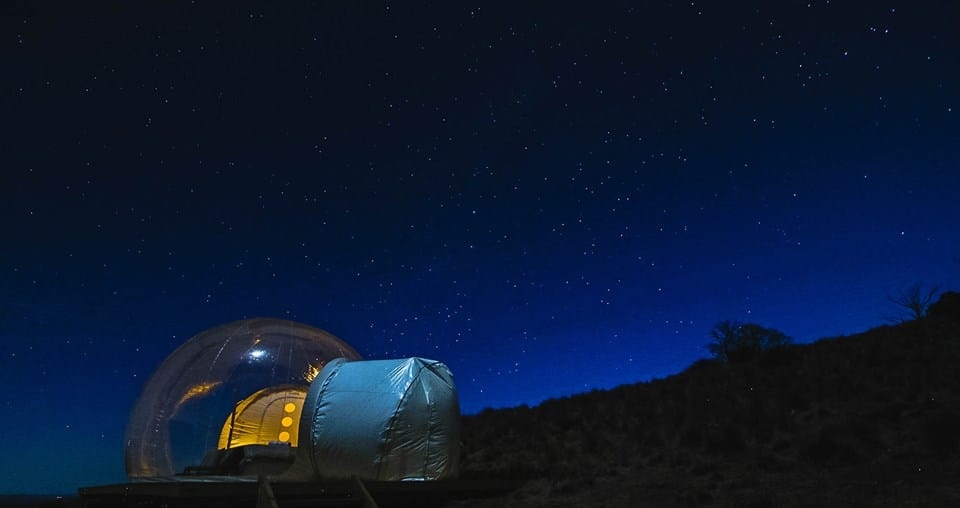 Bubble Tent camping