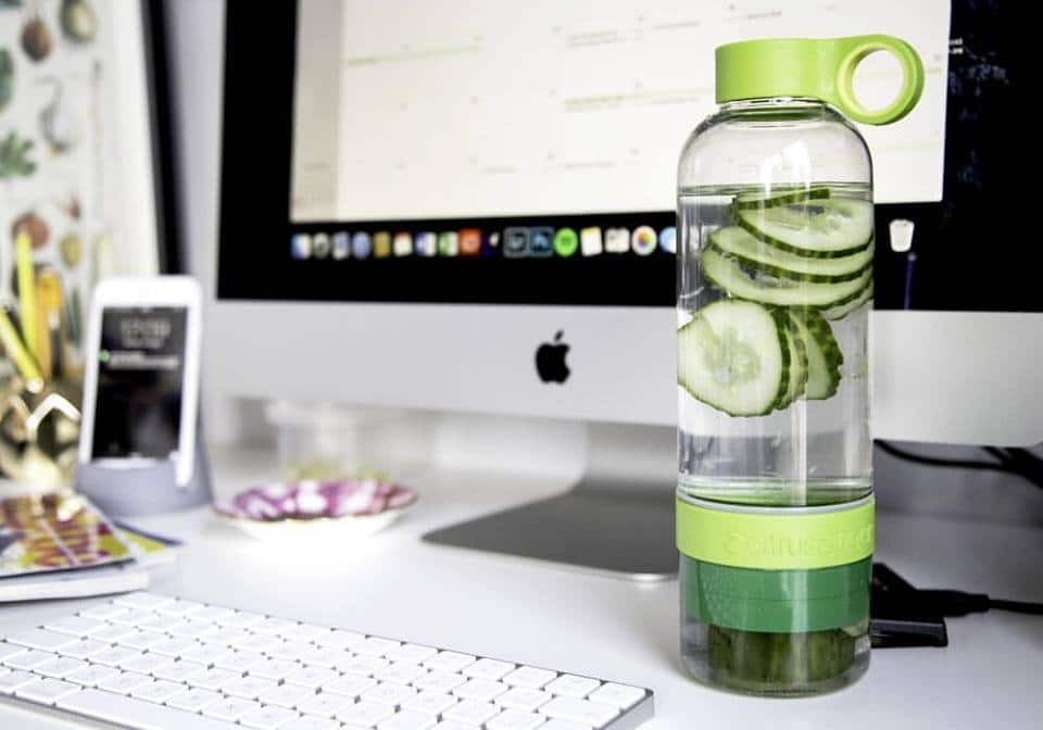 fruit infused water bottle - Zing