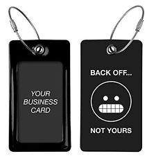"""Back Off... Not Yours"" Luggage Tag"