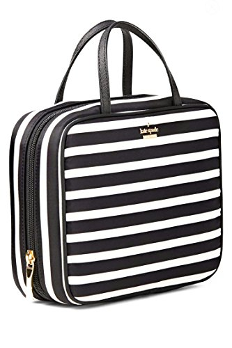 Kate Spade Classic Minna Nylon Travel Cosmetics Case
