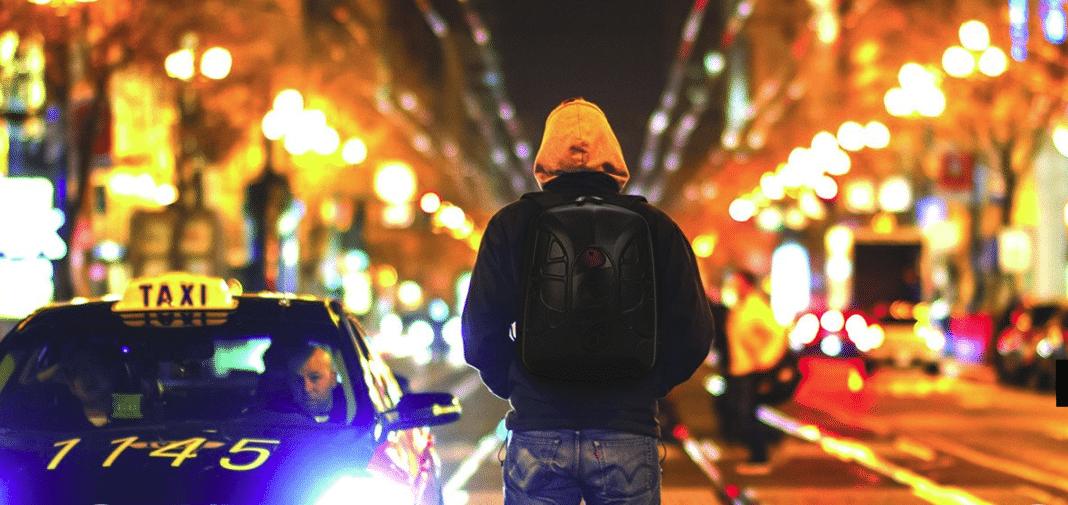 high tech backpack