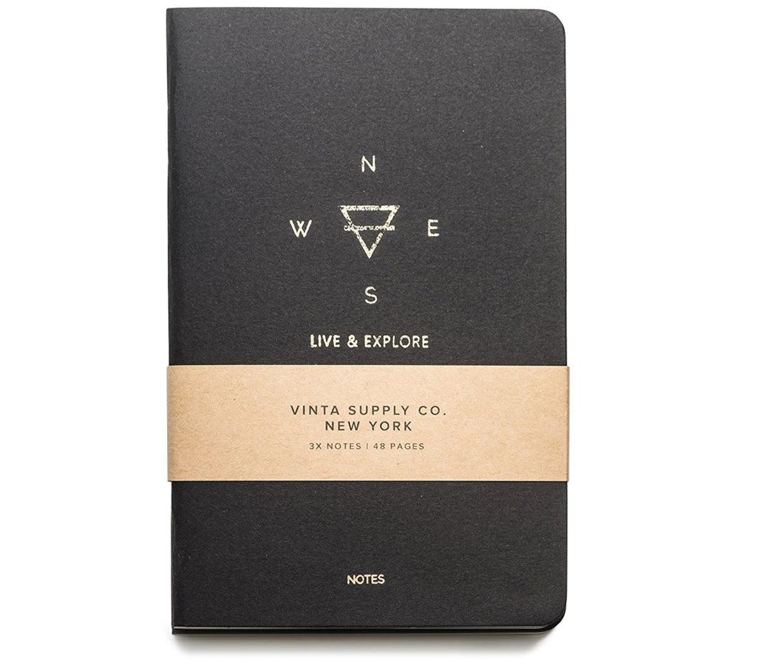 gifts for travelers - Vinta Supply Co. Travel Notebooks