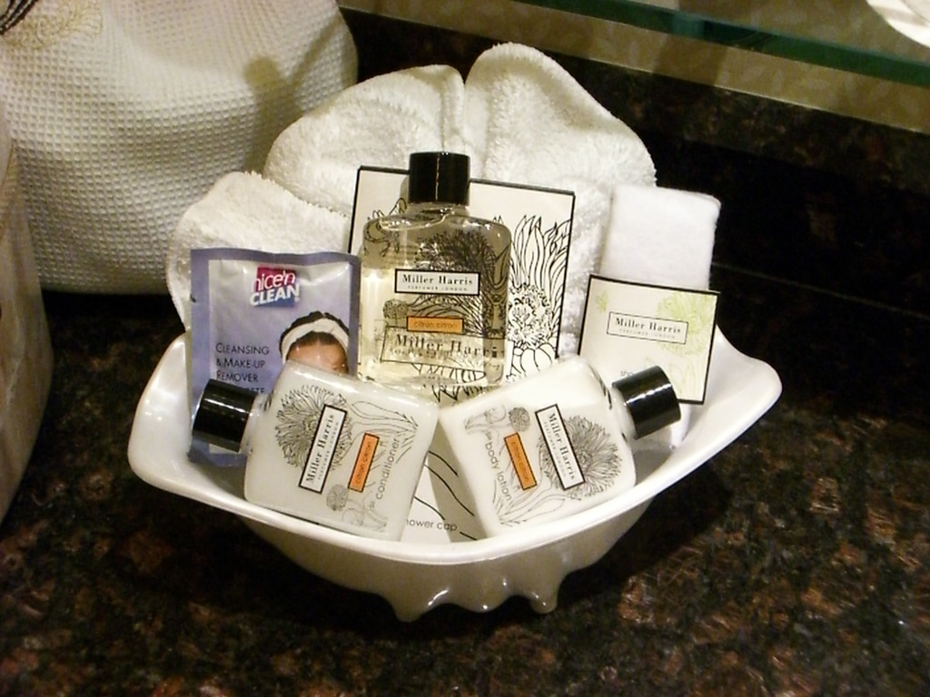 travel size toiletries