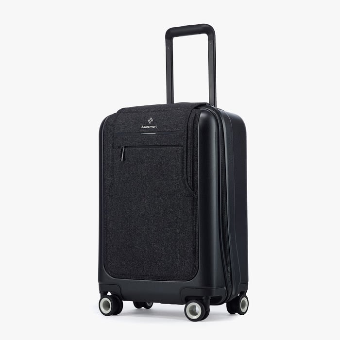 gifts for travelers - Bluesmart Black Edition Smart Luggage