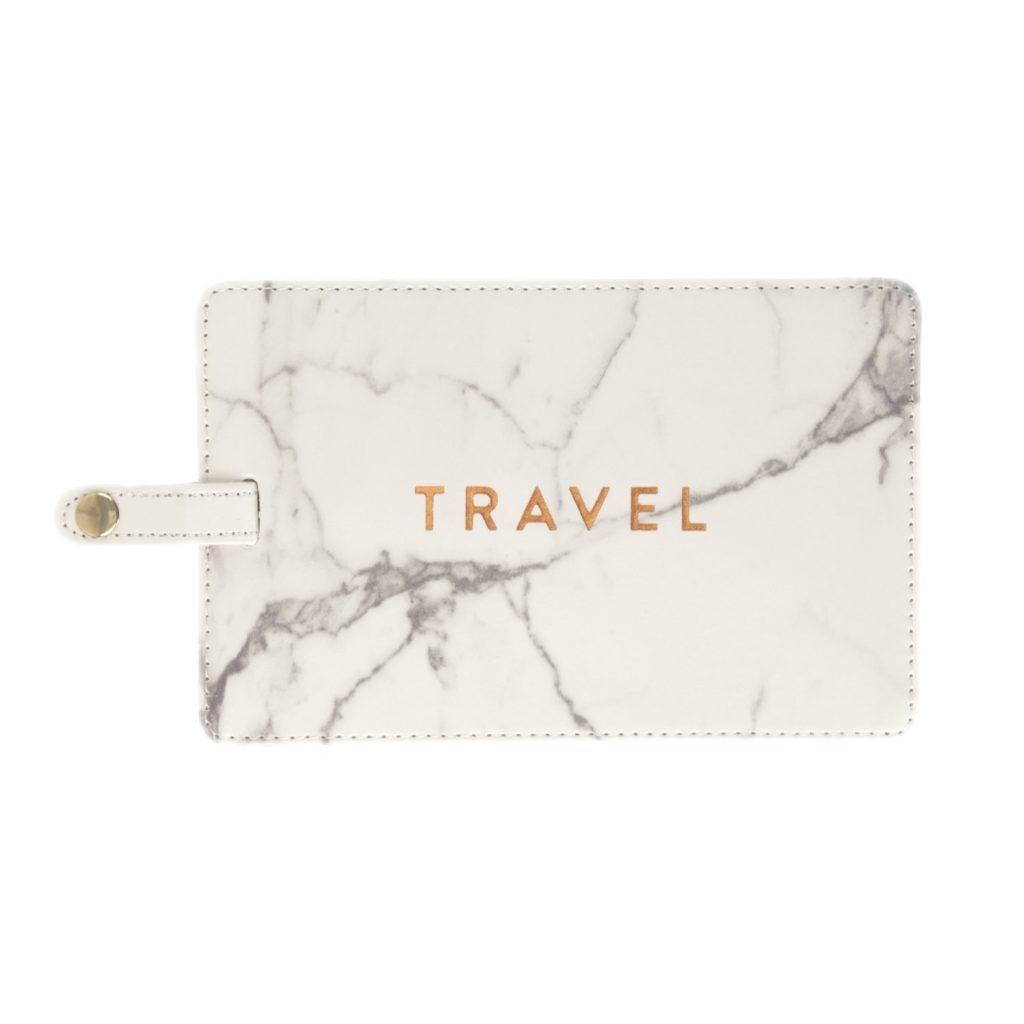 gifts for travelers - Eccolo Jumbo Luggage Tag