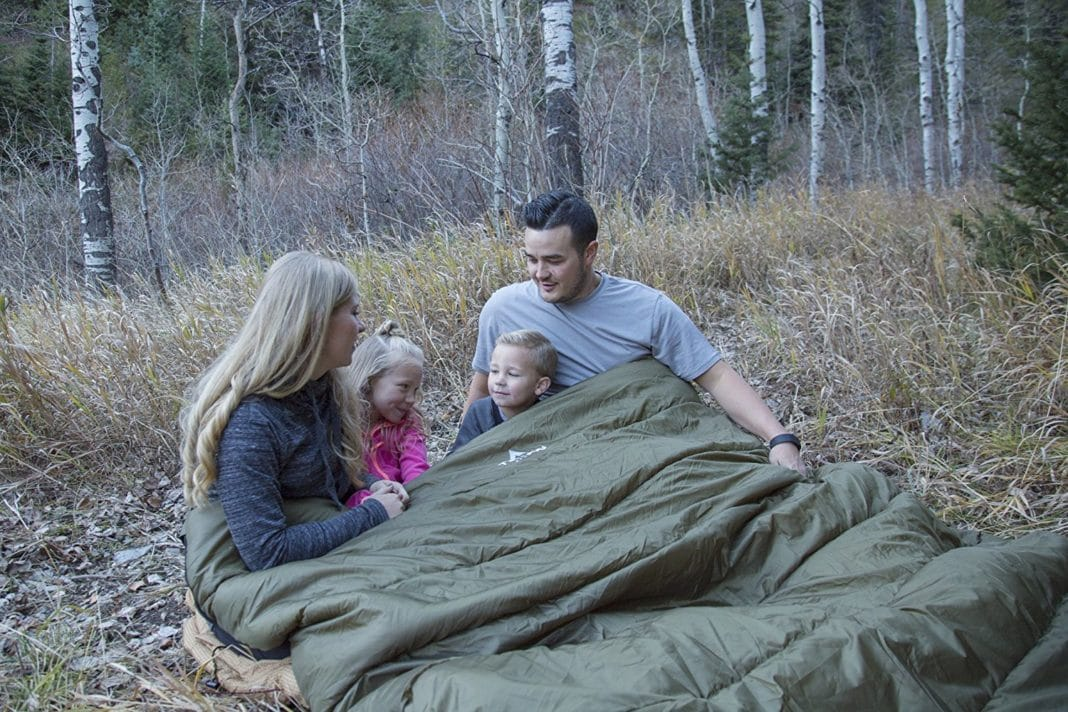 Teton Sports Mammoth Double Sleeping Bag Review - trekbible