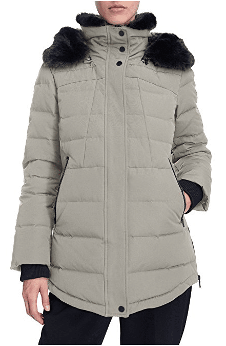 Women's Down Short Parka