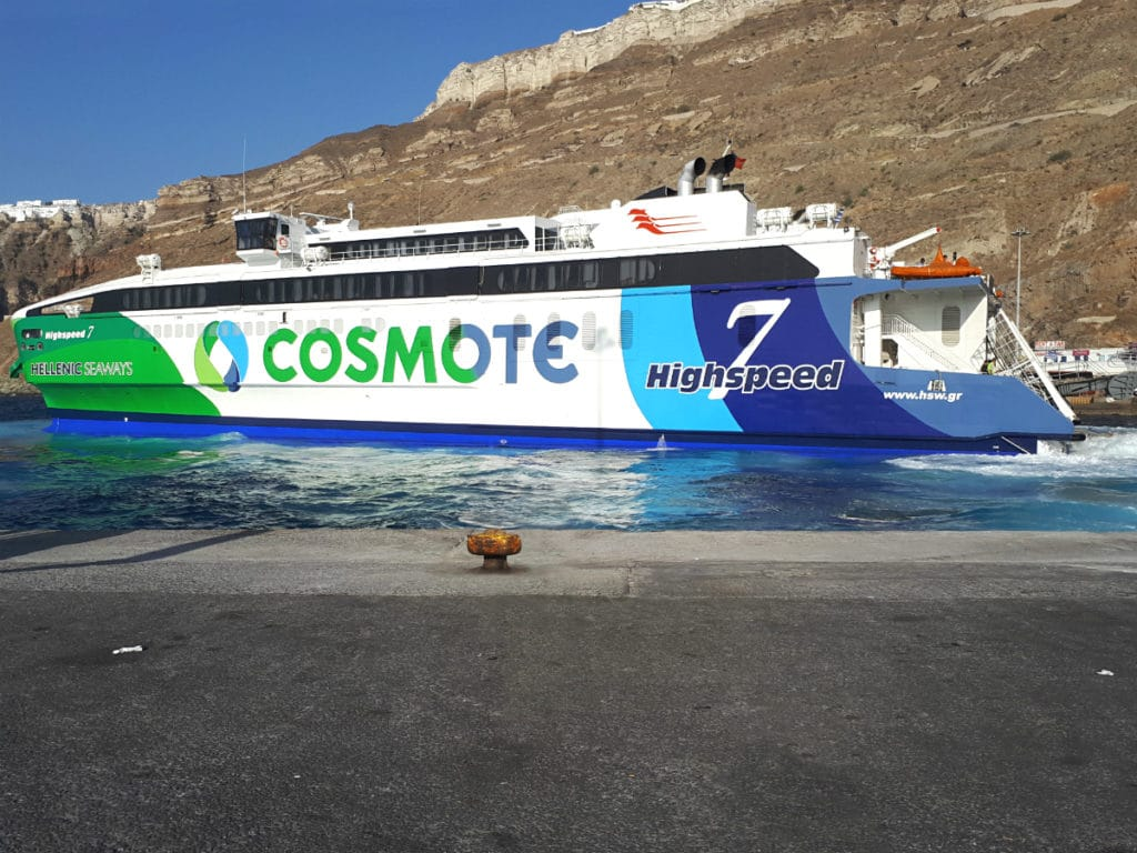 How To Get From Mykonos To Santorini Trekbible