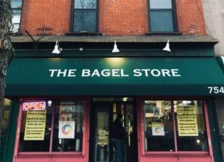rainbow bagels, bagels, bagel