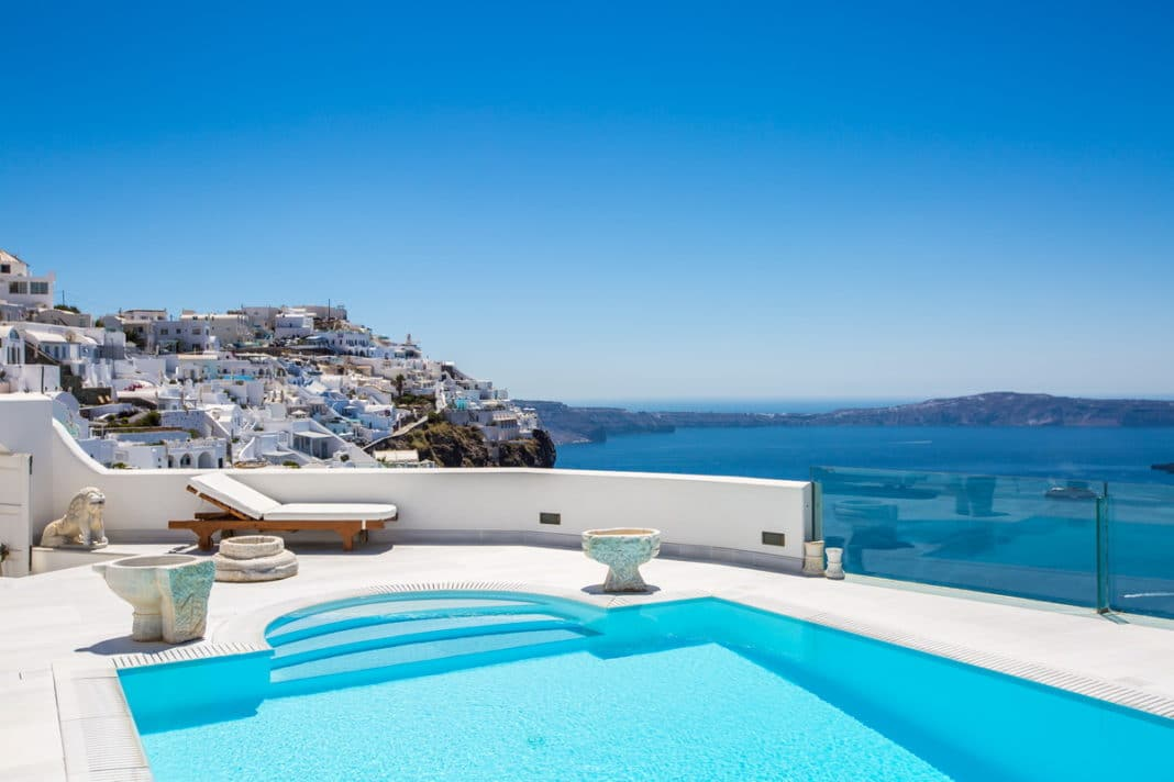 hotels in santorini - The Tsitouras Collection