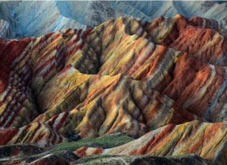 travel, China, trekbible, things to do, trip ideas, natural attractions, Rainbow Mountains, visit China, national parks, Asia, visit Asia, Gansu province