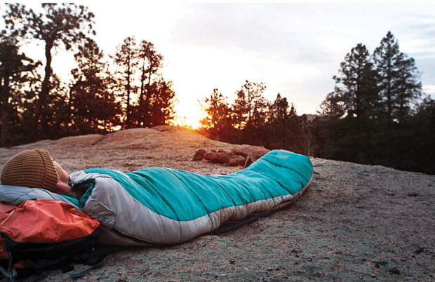 0 degree sleeping bag - Snag-Free Zipper