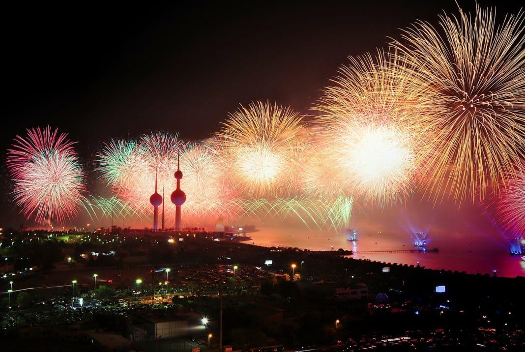 New Zealand - fireworks