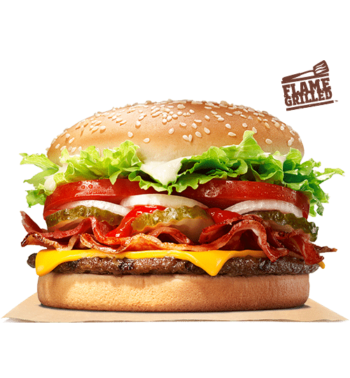 best fast food burger - Cheese Whopper