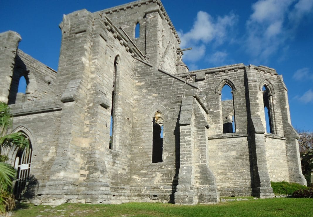 things to do in bermuda - Unfinished Church