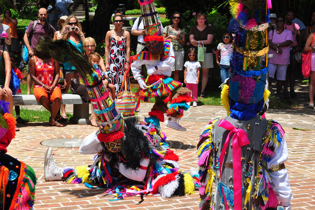 things to do in bermuda - gombey dancers