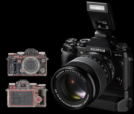 fujifilm x-t1 - Weather Resistant