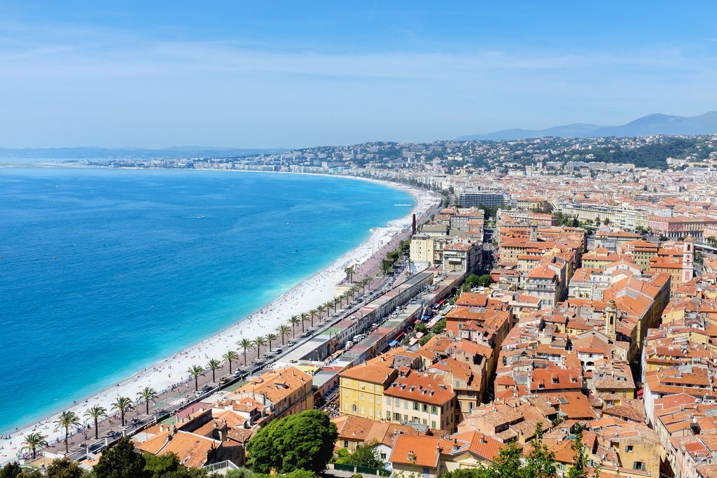 best places to visit in france - Nice