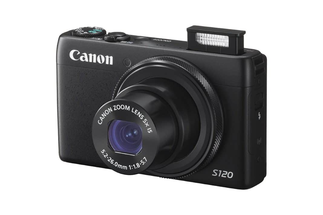 Canon Powershot S120 - Interface