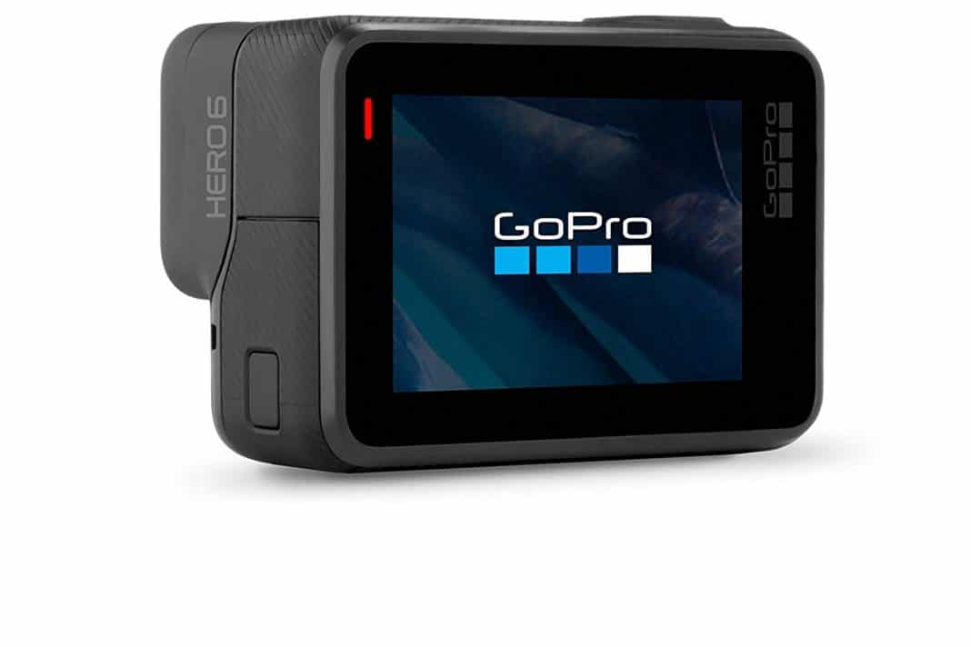 gifts for travelers - GoPro Hero 6 Black