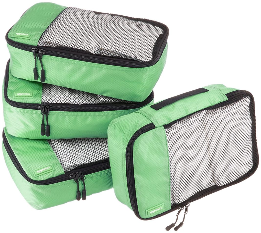 gifts for travelers - AmazonBasics Small Packing Cubes