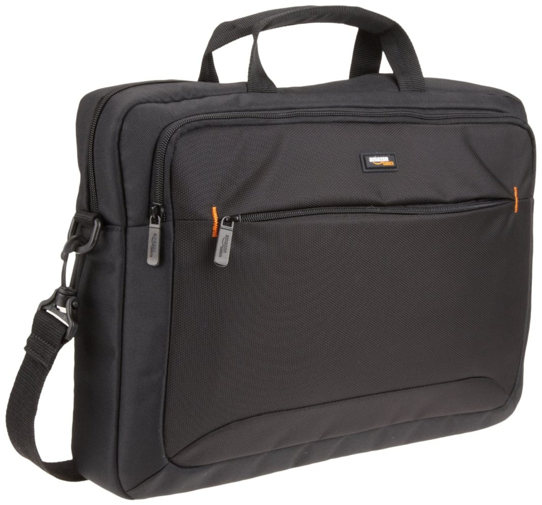gifts for travelers - AmazonBasics Laptop Bag