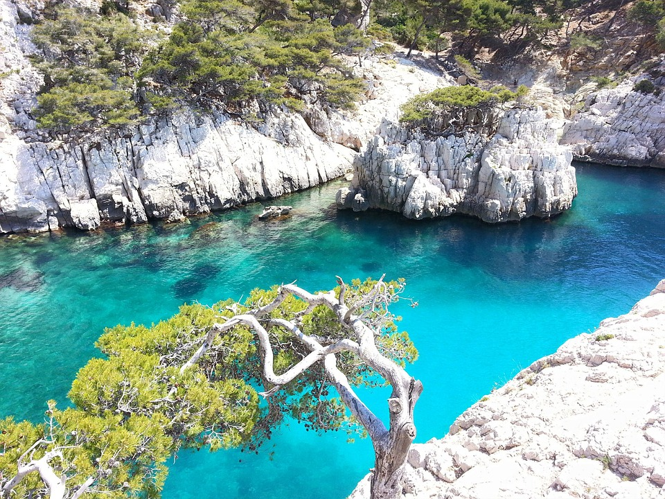 best places to visit in france - Calanques