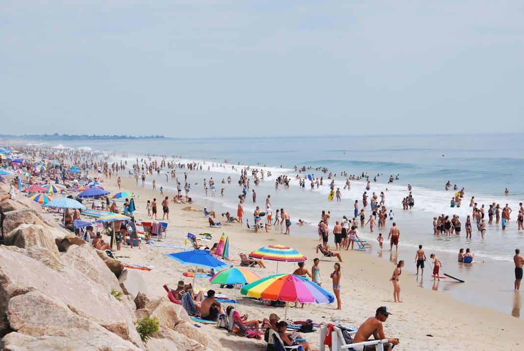 Most Crowded Beach In Rhode Island
