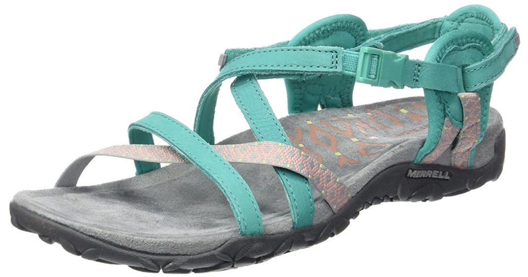 f06a4fc1c81db7 Merrell Terran Lattice II Sandal Review  A Durable Travel Shoe ...