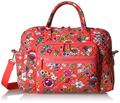 Vera Bradley Iconic Weekender Travel Bag Trek